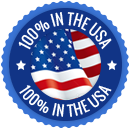100% in the usa